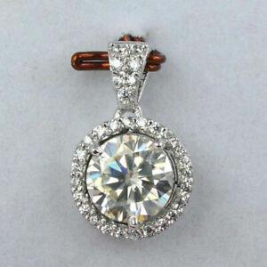 14k-White-Gold-Finish-2-00-Ct-Round-Cut-Diamond-Halo-Pendant-Necklace-18-034-Chain