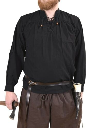 Battle Merchant mittelalterhemd Ludwig gentilhomme-Chemise Moyen Age Gothique S-XXL