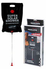 Solar Campeggio Shower Outdoor Portatile Shower Escursionismo Trekking Da Pesca