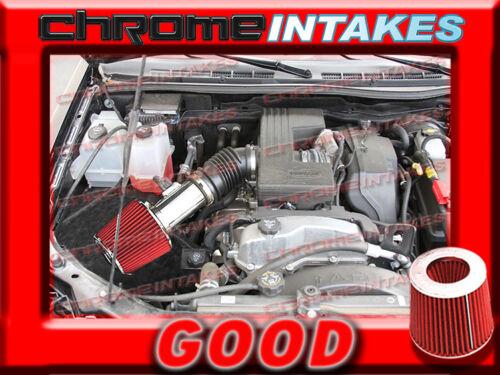 RED 2007 2008 2009 2010-2012 CHEVY COLORADO//GMC CANYON 3.7 3.7L AIR INTAKE KIT