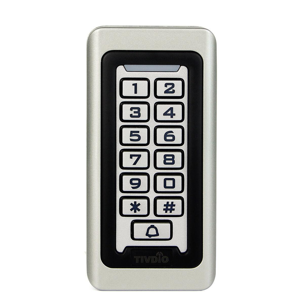 TIVDIO RFID- &PIN-Code-Schloss,Wasserdicht,Metallgehäuse Silber RFID-Codeschloss | Schnelle Lieferung  | Economy  | Reichlich Und Pünktliche Lieferung  | Abgabepreis