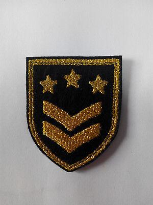 Parche bordado para coser 6,5//7 cm Cruz Templarios  adorno ropa personalizada