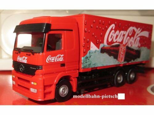 "neu Lemke LC21003 Kühlwagen OVP 1:87 rot Wiking Lastzug /""Coca Cola/"""