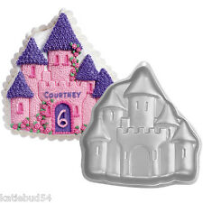 Wilton 1998 Enchanted Castle Cake Pan With Instructions for 3