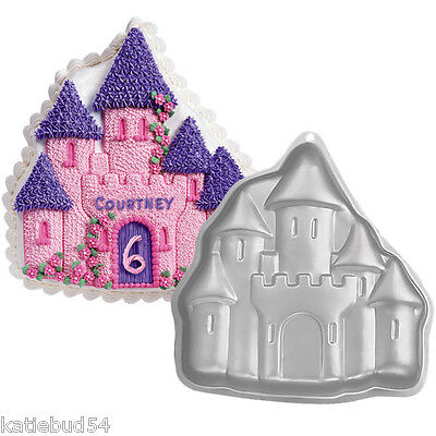 Wilton CASTLE Sheet Cake Pan 2105-2031 Princess Sand
