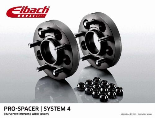 Eibach Spurverbreiterung schwarz 30mm System 4 Volvo C70 II Cabrio M, ab 03.06