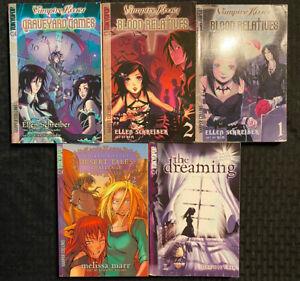 Vampire-Kisses-Assorted-Manga-The-Dreaming-1-Wicked-Lovely-2-Teen