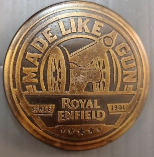 Royal Enfield Magnetic Bottle Opener With Etched Novelty Box Rare in the US