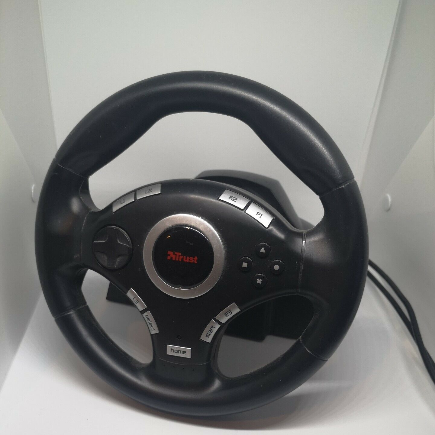 Trust Vibration GXT 27 Vibration Feedback Racing Wheel PRE OWNED ✅ Fast Dispatch