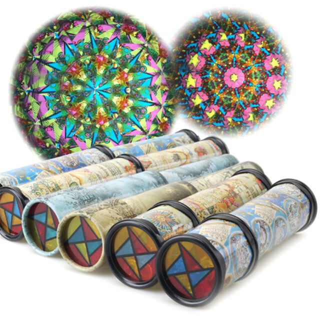 21CM Kaleidoscope Children Toys Kids Educational Science Toy Classic  HQ