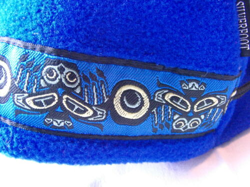 NWT Hip Fleece Baby Toddler Hat 6-24 months Native Indian Silverfoot Adjustable