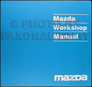 1994 mazda mx 3 mx3 original shop repair manual 94 ebay. Black Bedroom Furniture Sets. Home Design Ideas