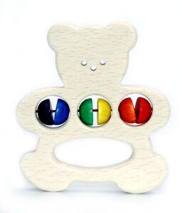 Hess Greifling Bär Babyspielzeug OVP Holzspielzeug