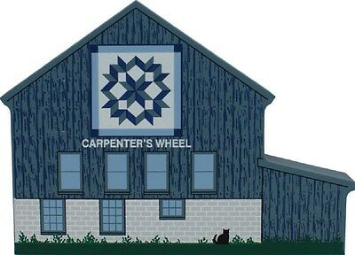 Cat's Meow Village Carpenter's Wheel Quilt Barn #10-411 NEW *SHIPPING DISCOUNT*