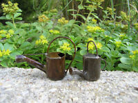 Miniature Watering Cans Set Of 2