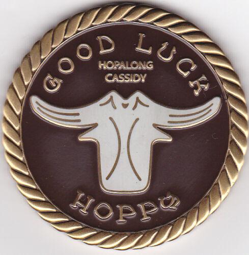 HOPALONG CASSIDY GOOD LUCK CHALLENGE Geocoin COIN
