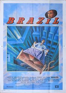 MANIFESTO-BRAZIL-TERRY-GILLIAM-DE-NIRO-PALIN-PRYCE-SCI-FI-MOVIE-POSTER