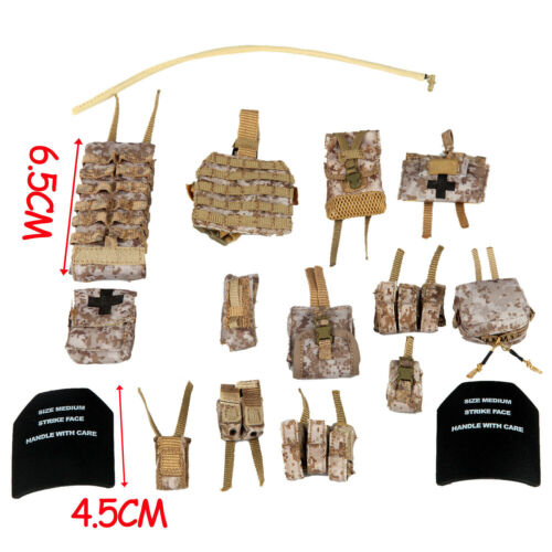 Soldier Story 1//6 SS106 Medal Of Honor Navy SEAL Voodoo Pouches Set Accessories