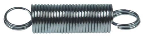 Zugfeder Drahtstärke 1mm ø 11mm Gesamtlänge 49mm Länge 30mm L1 30mm