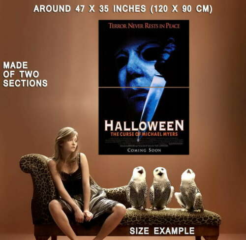 the curse of michael myers movie wall print poster 66100 halloween 6