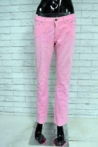 JECKERSON-Pantalone-Donna-Taglia-Size-30-Jeans-Pants-Woman-Jeans-Rosa-Casual