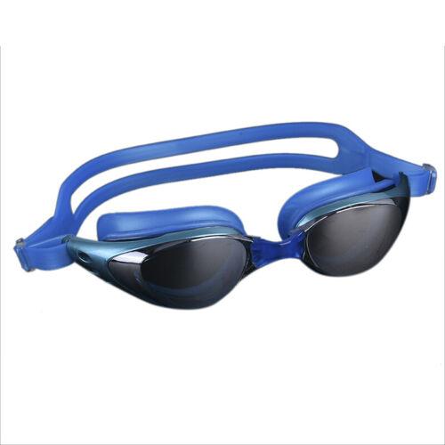 MenWomen Electroplate Swimming Glasses Anti Fog UV  Waterproof Swimming Eyewears