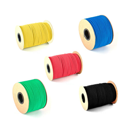 12mm Bungee Shock Cord Elastic Rope Tie Down Wide Choice of Colours /& Lengths ™