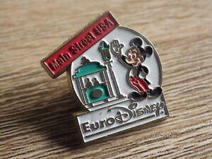 Pin-S-Vintage-Pins-de-Solapa-Coleccionista-Euro-Disney-Mickey-Manual-Real-Lote
