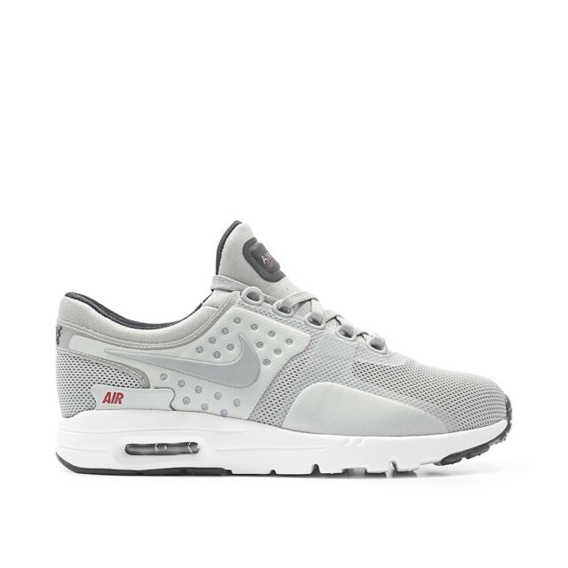 dab59c024b Nike Air Max Zero QS Womens 863700-002 Metallic Silver Running Shoes ...