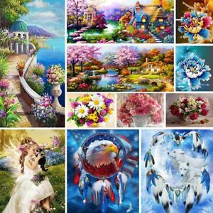 5D DIY Diamond Painting Landscape Embroidery Cross Craft Stitch Home Decor Art