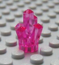 NEW Lego TRANS Dark Pink CRYSTAL Jewel Power Miners Minifig Treasure Chest Gem