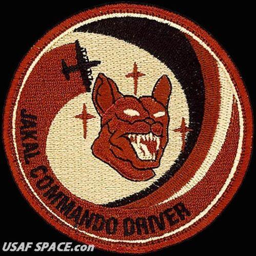USAF 17TH SPECIAL OPERATIONS SQ JACKAL COMMANDO DRIVER ORIGINAL DESERT PATCH