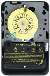 Details about Intermatic T104 240 Volt Electromechanical Swimming Pool Pump  Timer SHIPS FAST