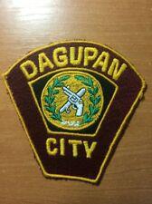 PATCH PHILIPPINES NATIONAL POLICE  (PNP) - DAGUPAN city -  ORIGINAL!
