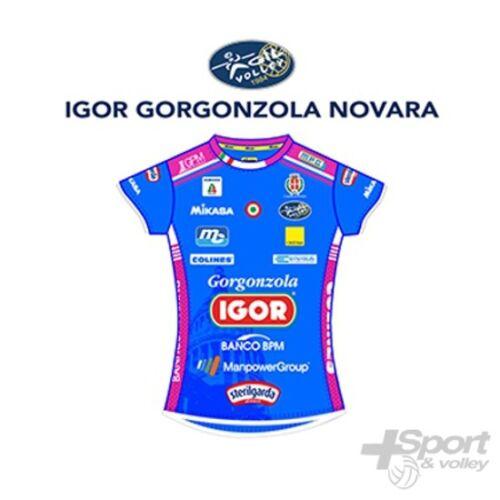 Prima Jersey Wettspiel Volley Mikasa Offiziel Gorgonzola Novara Frau