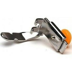 Brother Sa161 Adjustable Zipper Piping Foot Will Fit All