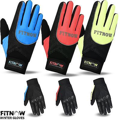 TEX Windproof Padded Optimum Ladies Cycling Gloves Thermal WIND