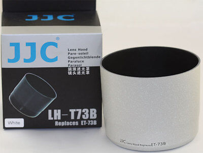 JJC LH-74B Lens Hood For Canon EF 70-300mm IS USM II replaces Canon ET-74B With A/&R Cleaning cloth
