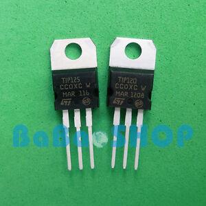 3pairs-TIP120-NPN-TIP125-PNP-Brand-New-Darlington-Transistors-TO-220-ST