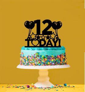 12 Ans Douzieme Decorations Figurines 12th Birthday Cake Topper