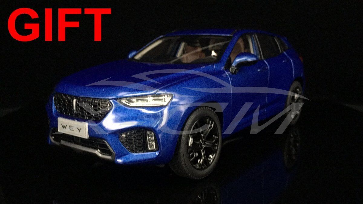 Car Model Great Wall WEY VV7 SUV SUV SUV 1 18 (bluee) + SMALL GIFT    9dbeb6