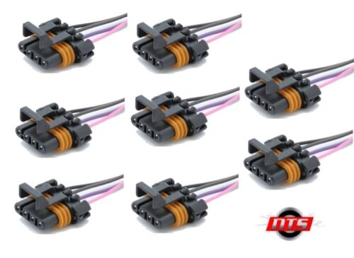 Set of 8 Harness Connector Pigtail for Ignition Coil Chevy GM LS1 LS6