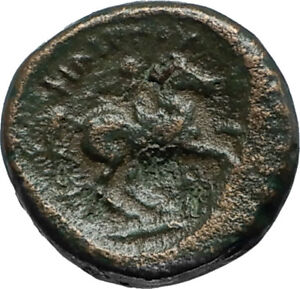 Philip-II-359BC-Olympic-Games-HORSE-Race-WIN-Macedonia-Ancient-Greek-Coin-i66751