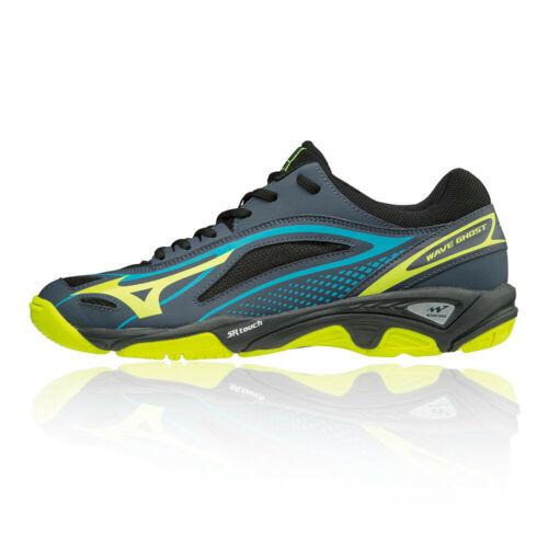 Mizuno Mens Wave Ghost Court Shoes Black Sports Handball Breathable Lightweight
