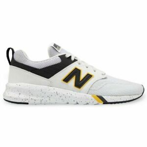 Details about Mens NEW BALANCE 009 Lightweight Shoe Sneaker MS009MC1 sz 10  4E Wide WHITE GRAY