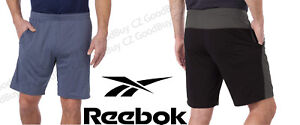 Men-039-s-Reebok-Speedwick-Poly-Knit-Active-Athletic-Drawstrings-2-TONE-Shorts-NWT
