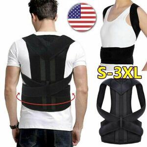 HOT-Posture-Corrector-Corset-Support-Back-Shoulder-Brace-Belt-For-Men-Women