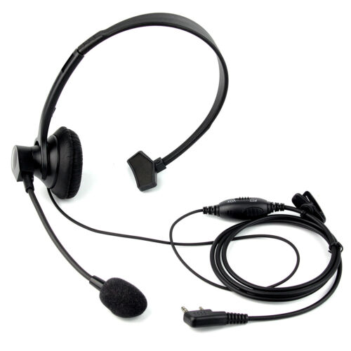 5Pcs 2 PIN PTT Mic Headphone Headset Earpiece for RETEVIS KENWOOD BAOFENG Radio