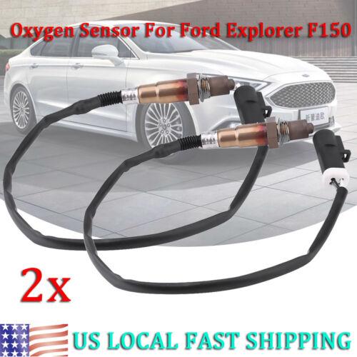 2Pcs O2 Oxygen Sensor Front Rear Downstream Upstream fits Ford Explorer F150