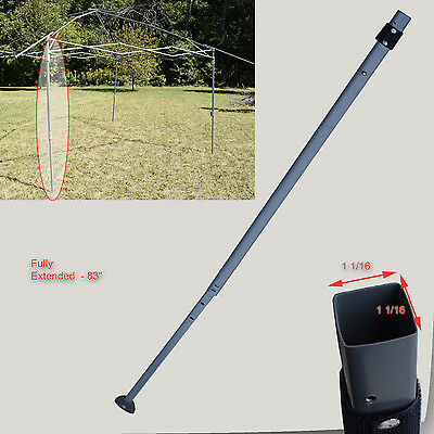 Coleman 13' x 13' Canopy Gazebo EXTENDED ADJUSTABLE LEG Repair Replacement Parts